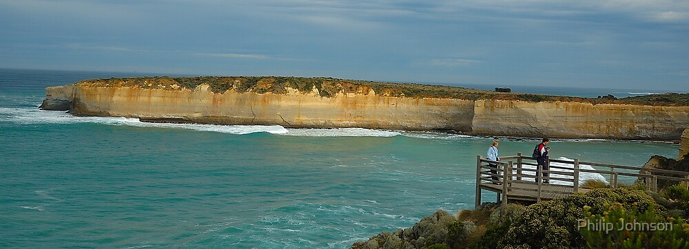 Looking Out - Great Ocean Road Series, Victoria, Australia by Philip Johnson
