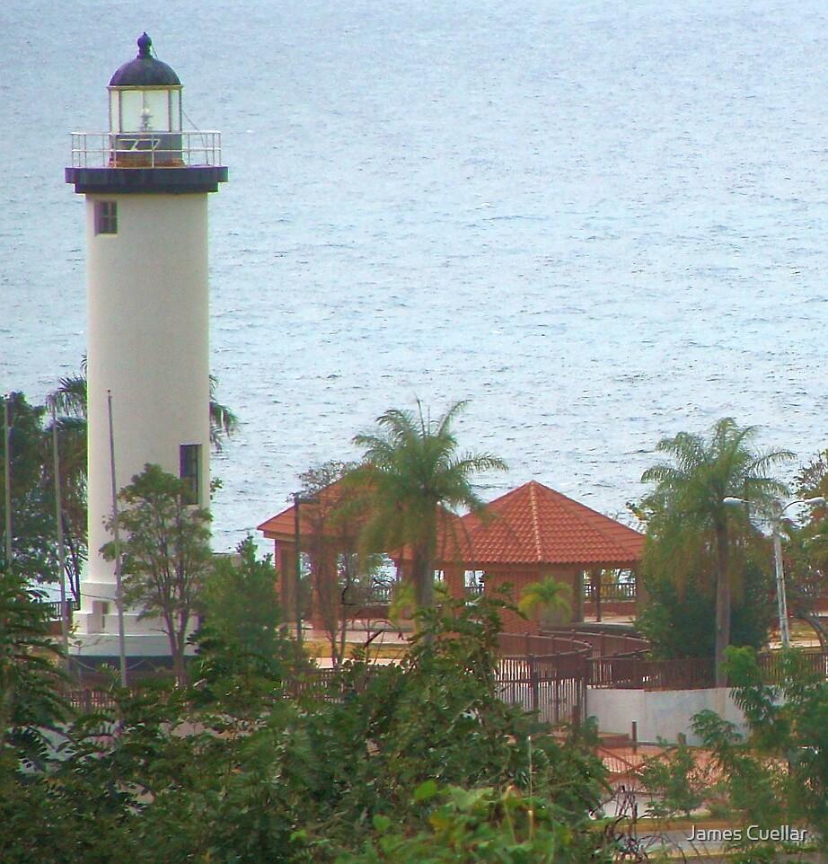 El Faro (Lighthouse) Rincón, Puerto Rico by James Cuellar
