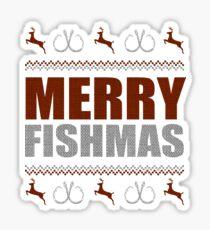 MERRY FISHMAS Sticker