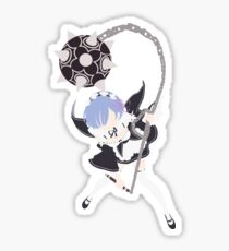 Rem Re:Zero Minimalist Sticker