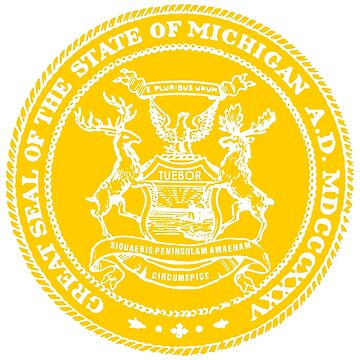 Michigan State Seal by WeMakeHistory