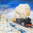 Cambridge Winter by Rasendyll