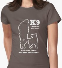 Police Military Dog K9 Womens Fitted T-Shirt