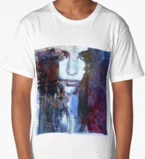 Beautiful Female Portrait Conceptual Modern Art Digital Artwork creations by: Avriahartz ''Her Beauty is an Art for Inspiration'' 4 Long T-Shirt