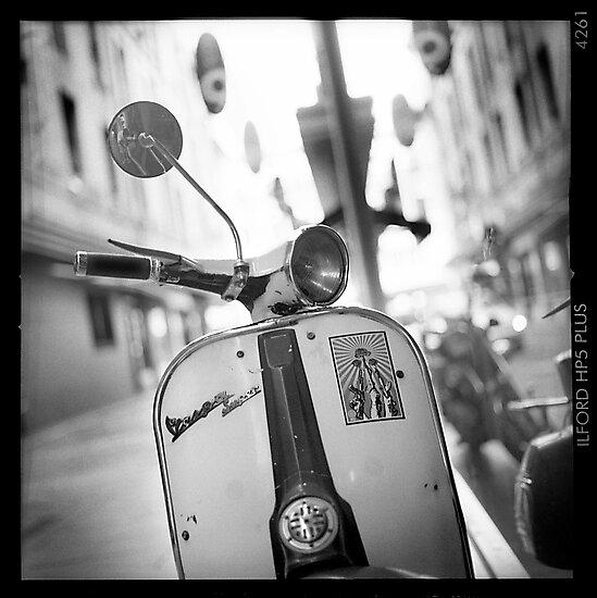 ' 67 Vespa ' by Mat Moore
