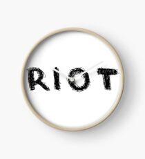 Riot Clock
