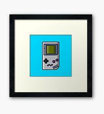 Retro: OG Game boy Framed Print