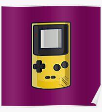 Retro: OG Game boy Color Poster