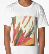 Abstract Painting Long T-Shirt