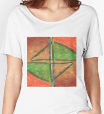 Abstract Painting Women's Relaxed Fit T-Shirt