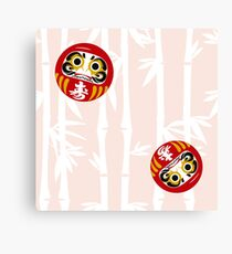 DARUMA PATTERN  Canvas Print