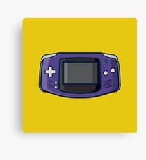 Retro: OG Game boy Advance Canvas Print