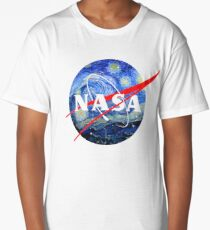 Starry NASA  Long T-Shirt