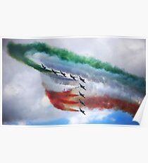 The Frecce Tricolori  Poster