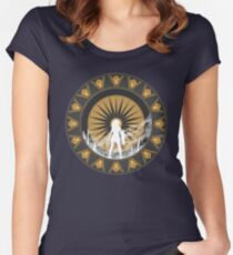 The Amazon Women's Fitted Scoop T-Shirt