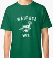 The ORIGINAL Waupaca Wis. Stranger Things Shirt! - Dustin's shirt Classic T-Shirt