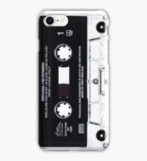 Music Tape Cover Nirvana Grunge  iPhone Case/Skin
