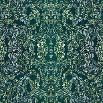 gouche greens by amyoharris