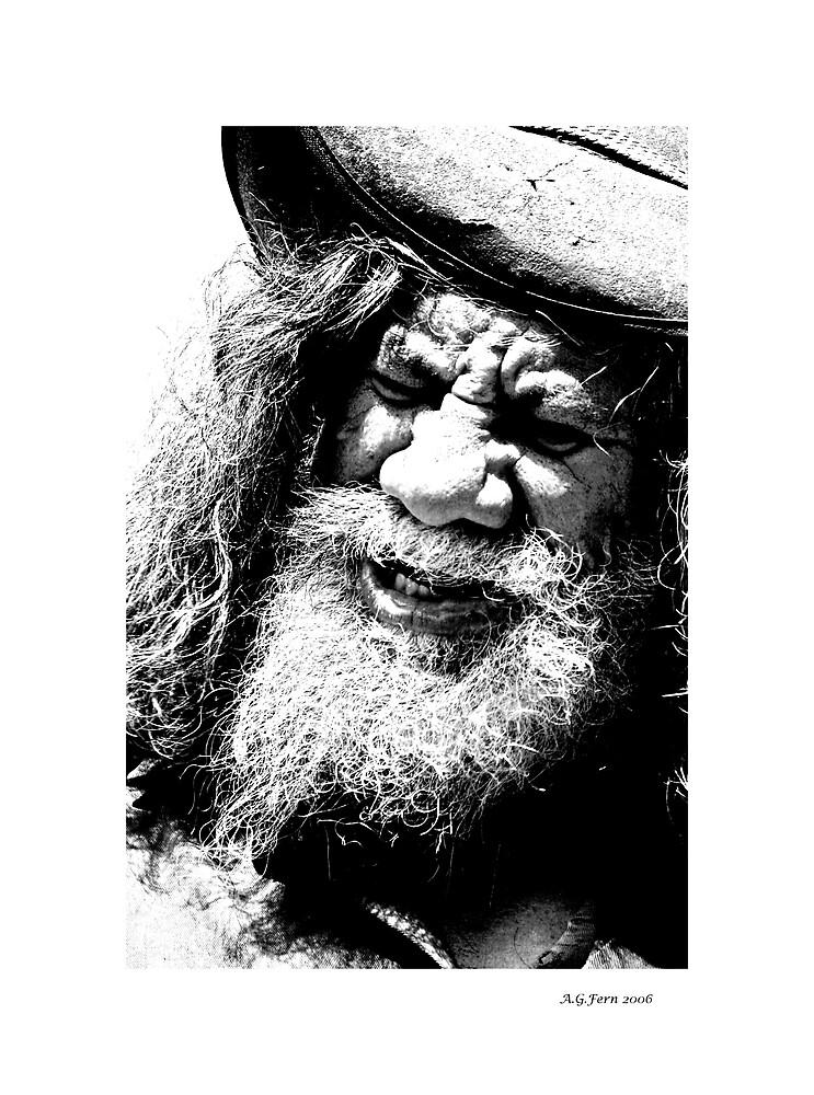 The Bush Poet by fernfotos