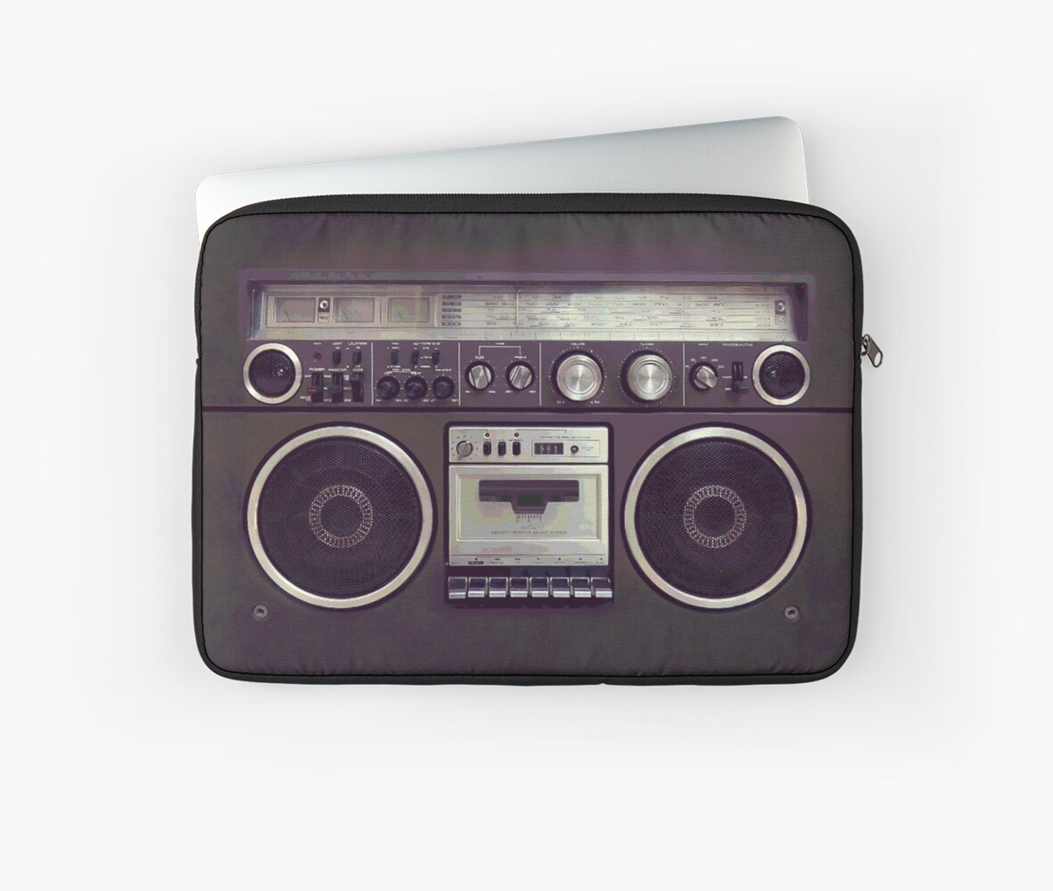 80s Retro Boombox by BluePlanet