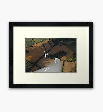 Thermal flying in England. Framed Print