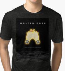 Molten Core / Alien Tri-blend T-Shirt