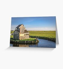 The little house (Marken) Greeting Card