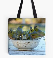Make Room, My Feet Are Freezing Down Here!! - Silver-Eyes - NZ Tote Bag