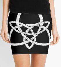 Rustic Celtic Knot - Inverted Mini Skirt