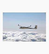 Glider soaring high. Photographic Print