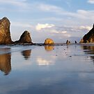 Glasshouse Rocks Narooma by Brett Thompson