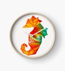 Origami Seahorse Clock