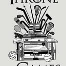 Throne of Games by HandDrawnTees