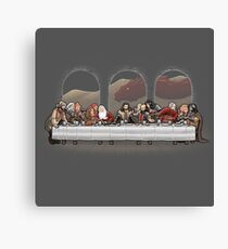 Dwarf dinner Canvas Print