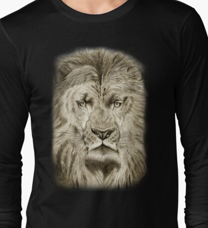 large lion tee T-Shirt