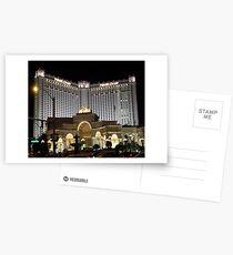 Monte Carlo..Las Vegas by Night Postcards