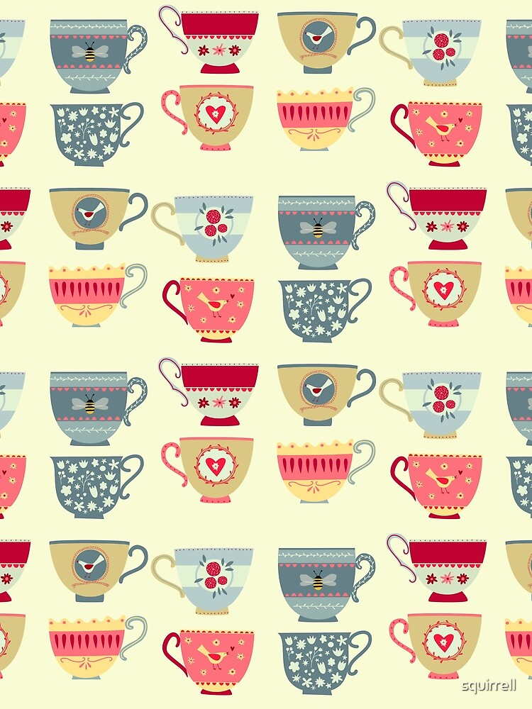 Tea Cups by squirrell