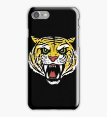 YELLOW TIGER (BACK) iPhone Case/Skin