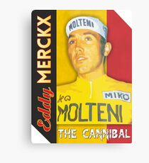 Eddy Merckx - The Cannibal Metal Print