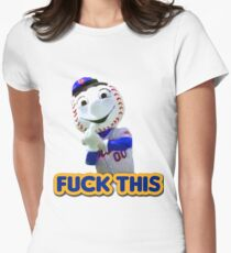fuck this Womens Fitted T-Shirt