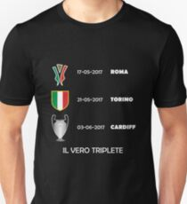 Juventus Il Vero Triplete 2017 T-Shirt