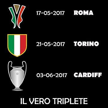 Juventus Il Vero Triplete 2017 by SKpixel