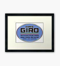 Caffe Giro Framed Print