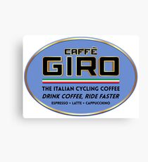 Caffe Giro Canvas Print