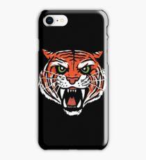 ORANGE TIGER (BACK) iPhone Case/Skin