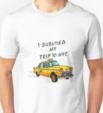 I Survived My Trip To NYC Unisex T-Shirt