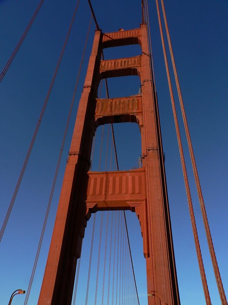 Golden Gate Tower by Rowan Kanagarajah