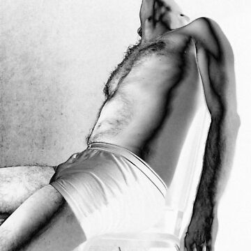 self portrait in white undies after manray by edeology