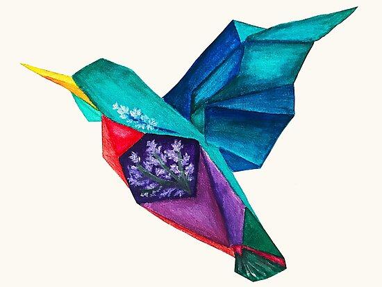 """Origami Hummingbird"" Photographic Prints by Carisagrem ... - photo#22"