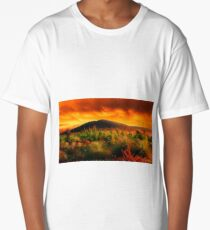 Fire In The Sky  Long T-Shirt